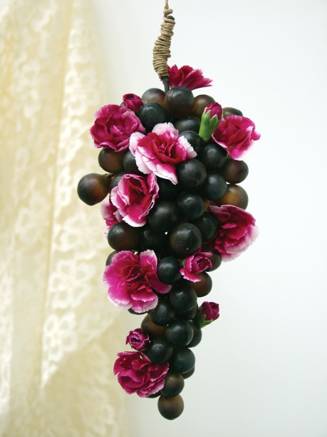 Carnations and Grapes
