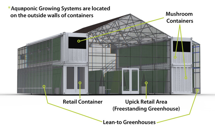 Ben Greene S Aquaponic Farm In Shipping Containers