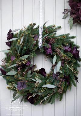 Wreath with Eucalypthus