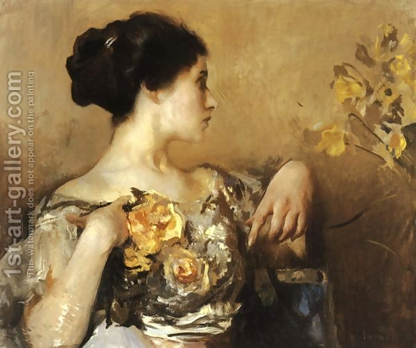 Lady with a Corsage.