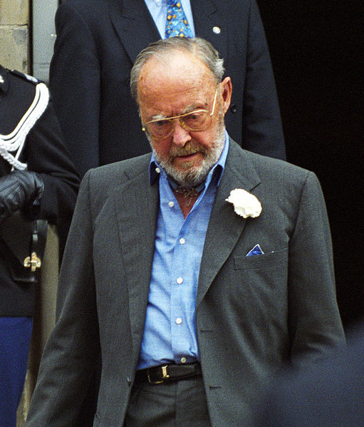 Prins Bernhard of The Netherlands was famous for his every day fresh Boutonniere from a white Carnation.