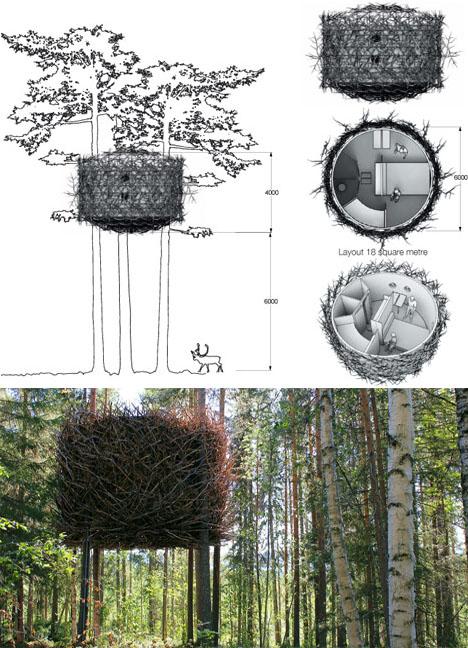 The Bird-nest design Plans