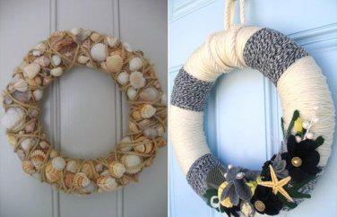 Shell-wreaths