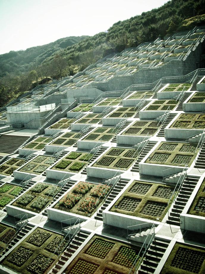 Platform Landscape For Awaji Yumebutai Center F L O R A