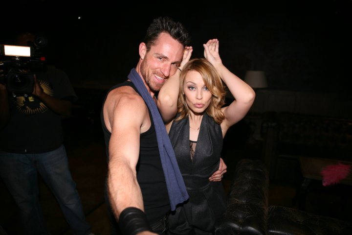 with Kylie Minogue