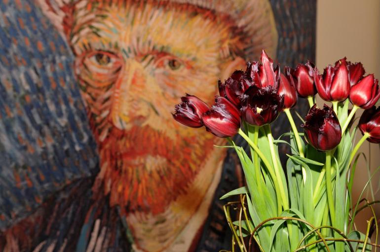The van Gogh Tulip.