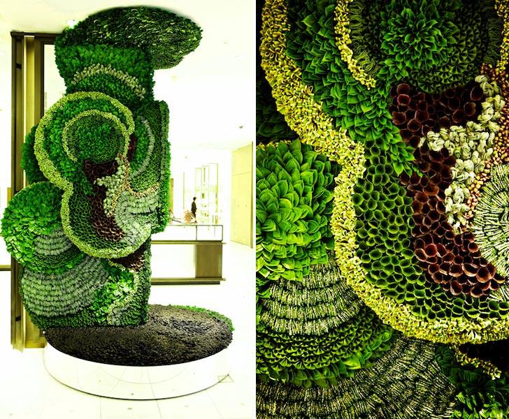 Azuma-Makoto-collapsible-leaves-plant-sculptures-2